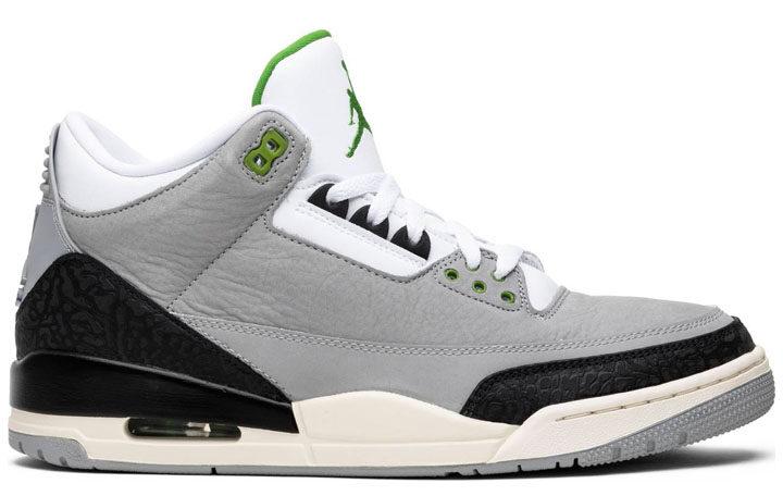 "Air Jordan 3 Retro ""Chlorophyll"""